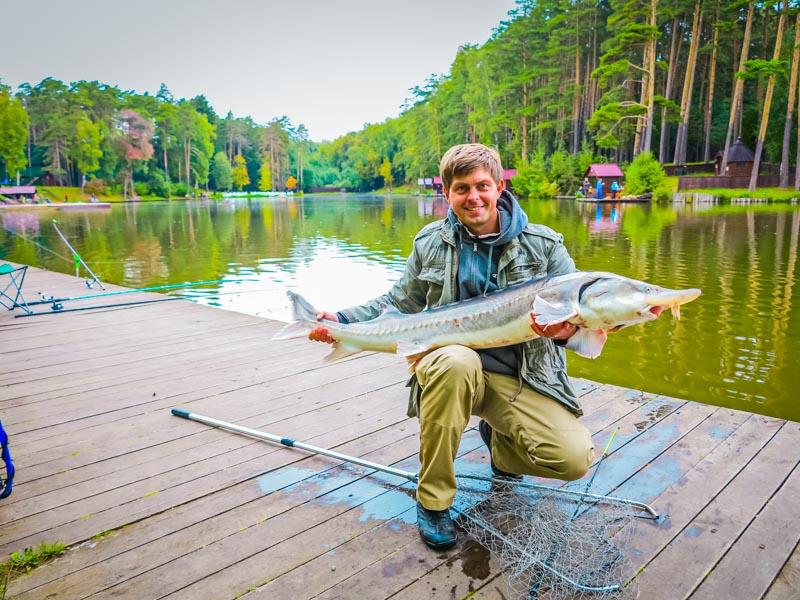 уникальная рыбалка