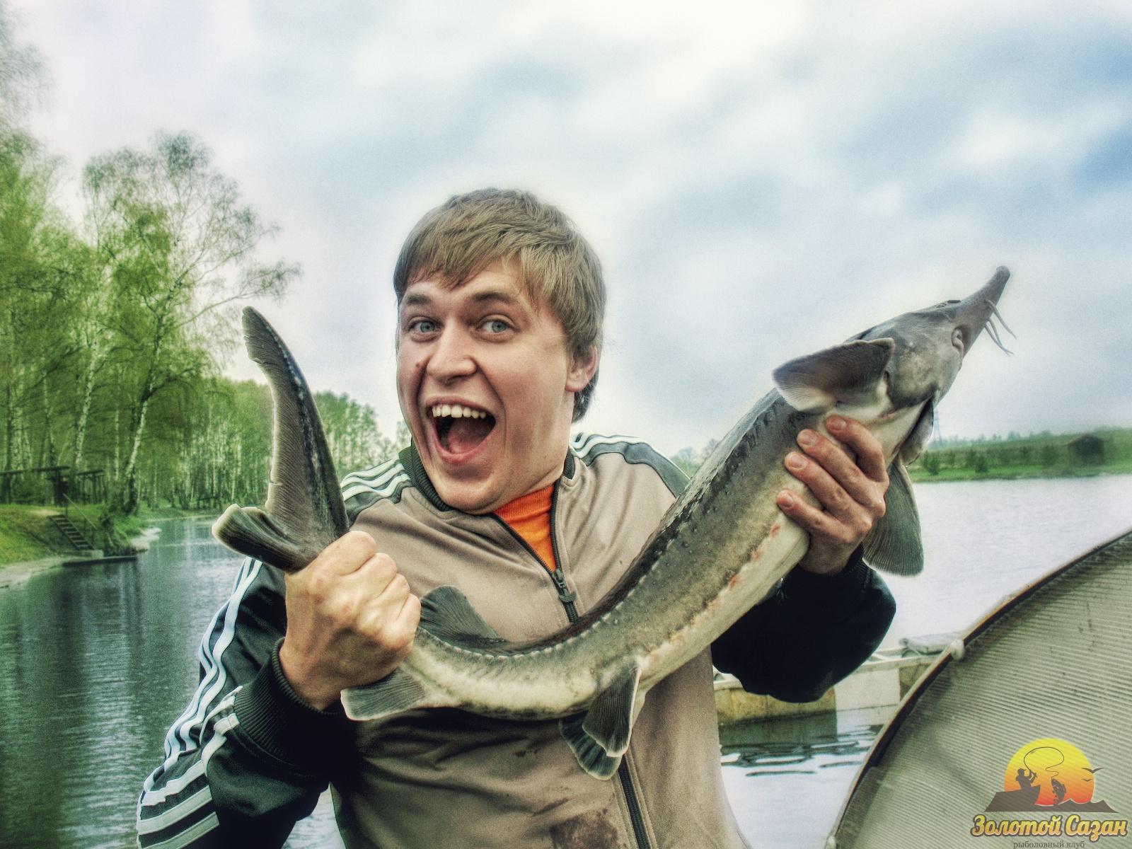 Знаменитые люди на рыбалке